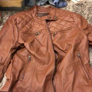 Cavallini brown leather jacket